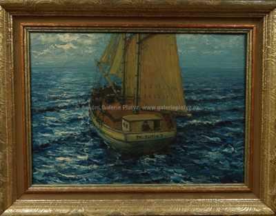 Alois Kohout - Rybářský kutr sv. Jura