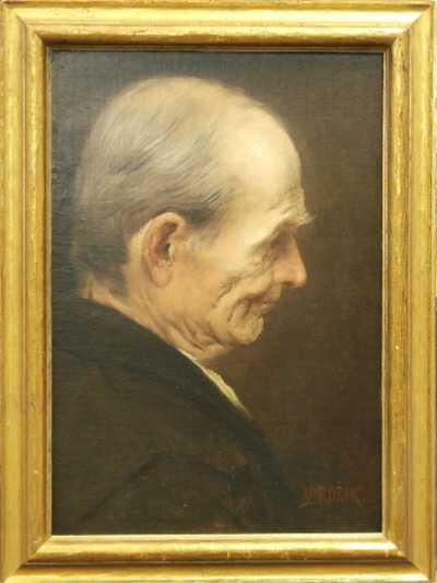 Václav Brožík - Portrét muže