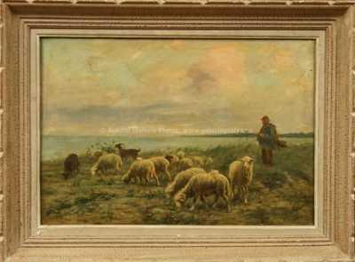 Albert Charpin - Na pastvě