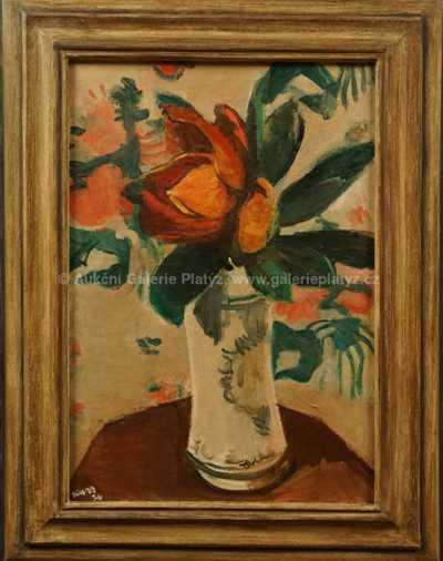 Georges Kars - Květinové zátiší