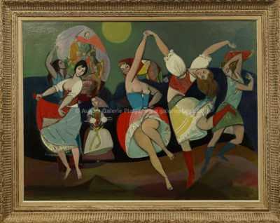 Rudolf Kundera - Tanečnice