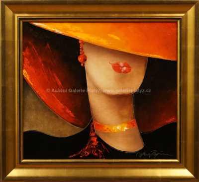 Jan Rapin - Dívka v červeném