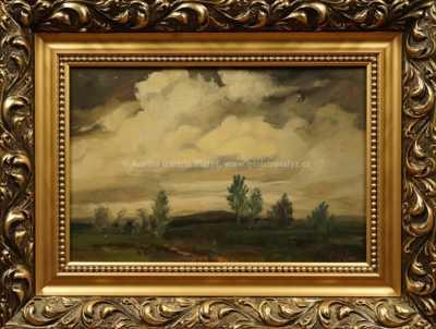 Viktor  Rolín - Stromy ve větru