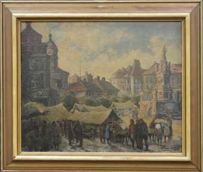 Ludvík Jelínek - Na tržišti