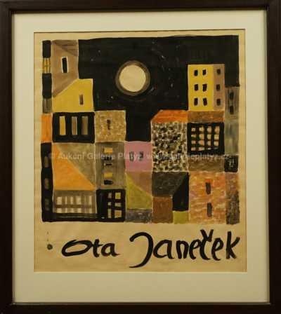 Ota Janeček - Návrh na plakát