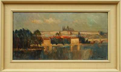 Karel Hodr - Pražské panorama