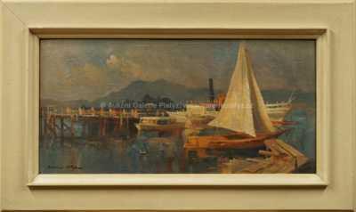 Karel Hodr - Chiemské jezero