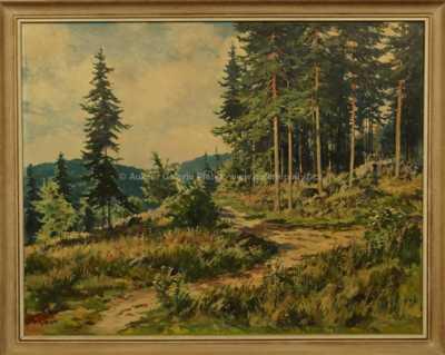 Gustav  Porš - Na kraji lesa