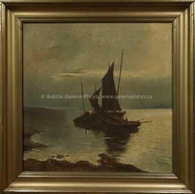 Josef  Svoboda - Rybářské bárky