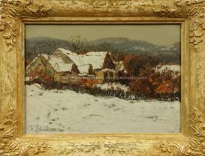 Karel Schadt - Zimní motiv