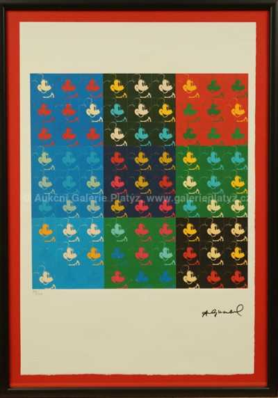 Andy Warhol - Multiple Mickey Mouse