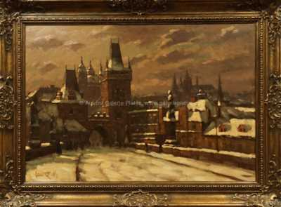 Stanislav Feikl - Zimní Praha