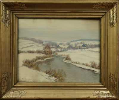 Alois Kalvoda - Zimní motiv