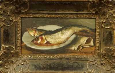 František Zikmund - Zátiší s rybami
