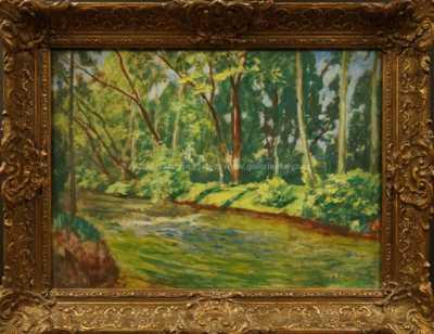 Antonín Hudeček - Na řece