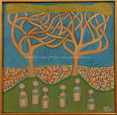 Karel Chaba  - Dva stromy