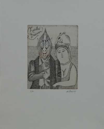 Adolf Born - Poslední Darwinův portrét
