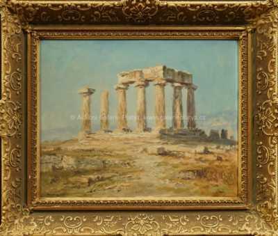 Luděk  Pešek - Chrám v Korintu