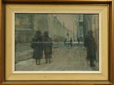 Jaromír Kunc - Zima v pražské ulici