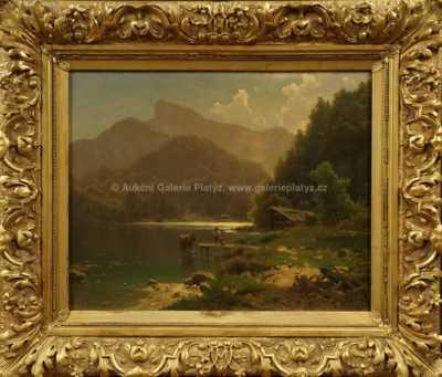 Adolf Chwala - U alpského jezera