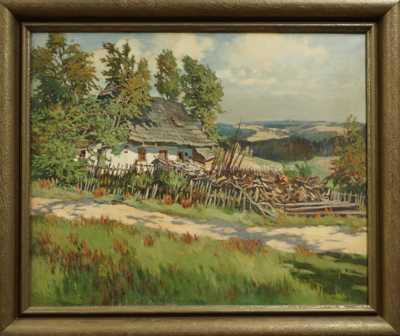 Gustav  Porš - Chalupa na Vratkové