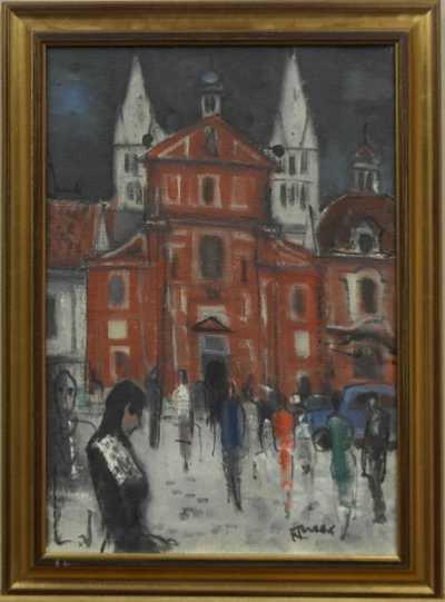 František  Turek - Zimní den u sv. Jiří
