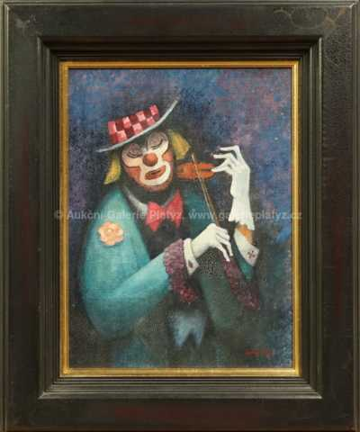 Karel Oberthor - Klaun s houslemi