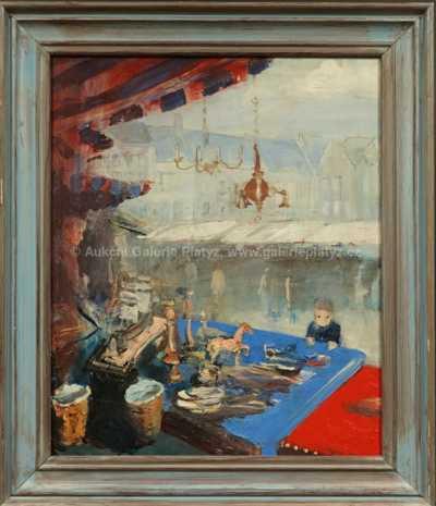 Pavel Vavrys - Bleší trh v Bruselu