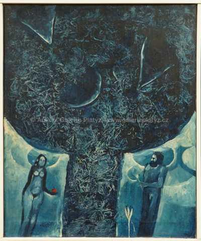 Jan František Kovář - Adam a Eva