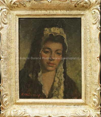 Karel Skála - Portrét dívky