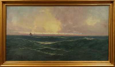 Max Jensen - Loď na horizontu
