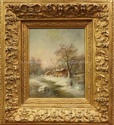 Eduard Boehm - Cesta sněhem