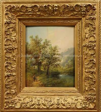Eduard Boehm - Pod rozkvetlým stromem