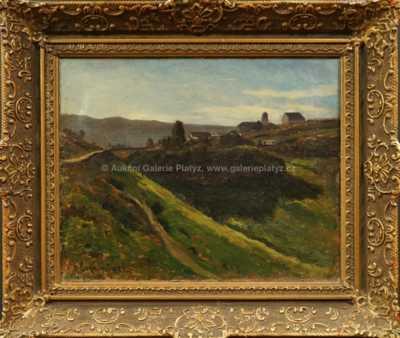 Ferdinand Engelmüller - Horská vesnice
