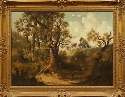 Ferdinand Lepie - Letní krajina se stromem