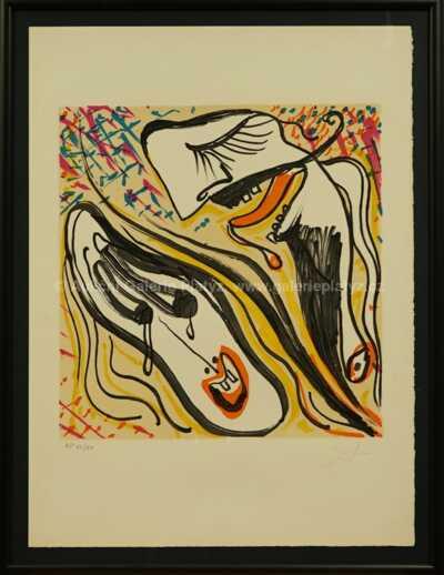 Salvador Dalí - Heterosexual Anguish 1973