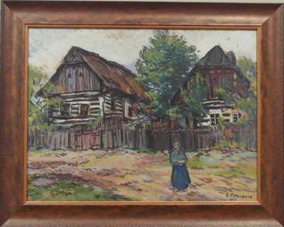 Emil Artur Pitterman - Longen - Před roubenkami