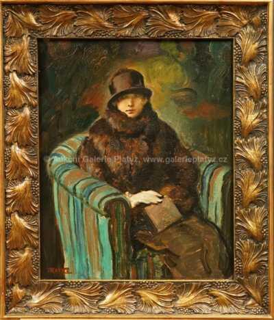 Sedící dáma
