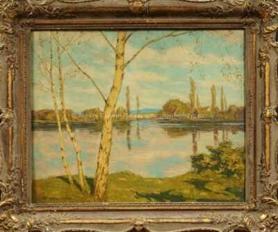 Alois Kalvoda - Břízy u vody