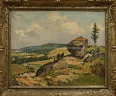 Gustav  Porš - Bludný kámen u Skutče