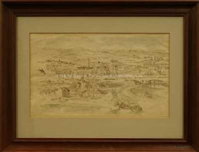 Othon Coubine - Pohled na městečko