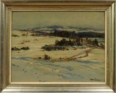 Jaroslav Panuška - Hory v zimě