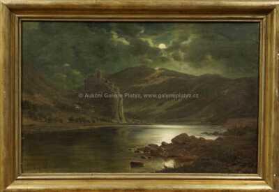 Alois Kirnig - Hrad u řeky