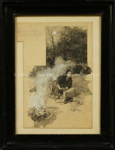 Josef Douba - Na kraji lesa
