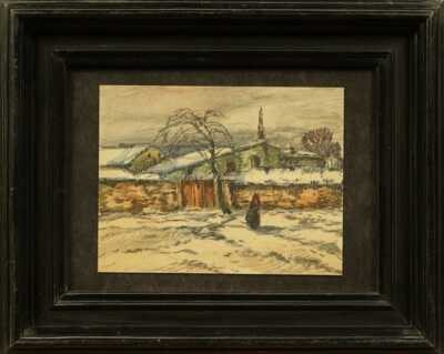 Josef Ullmann - Před vesnicí