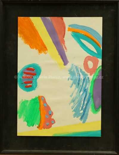 Milan Knížák - Abstraktní barvy