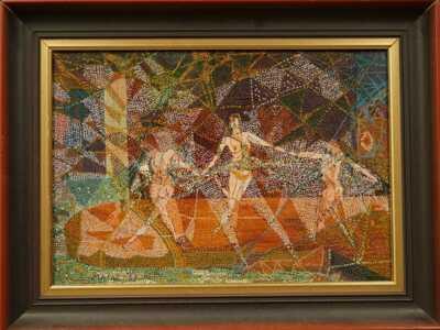Bohumil Matal - Obrazový návrh na keramickou mozaiku