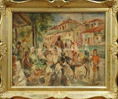 Bedřich  Feigl - Turecký trh
