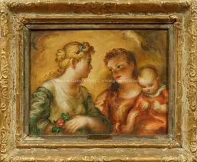 Antonín Procházka - Dvě ženy s dítětem