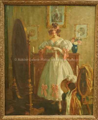 Alois Wierer - Dívka v bílých šatech